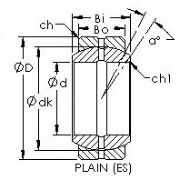 AST GEZ15ES plain bearings